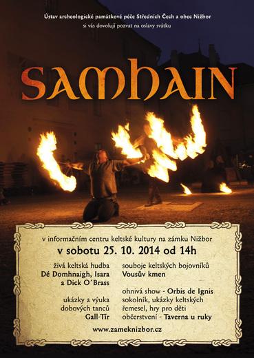 Plakát Samhain 2014 Nižbor
